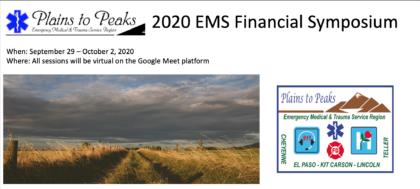 2020 Plains to Peaks EMS Financial Symposium