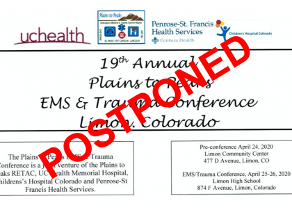 POSTPONED – 2020 Plains to Peaks EMS & Trauma Conference